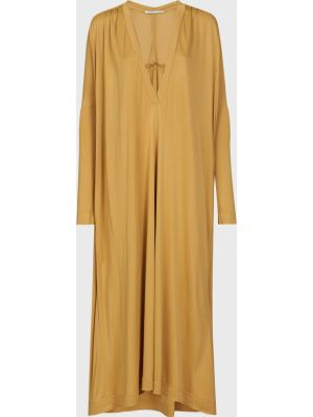 Шелковое платье - коричневое Agnona