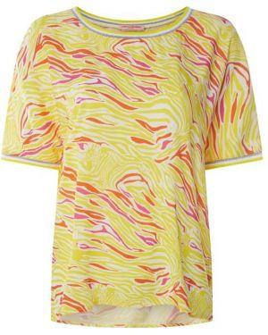 Żółta bluzka z wiskozy Frieda & Freddies
