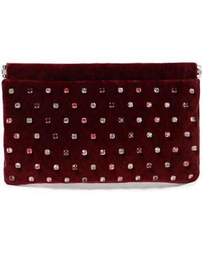 Czerwona kopertówka skórzana Red(v)
