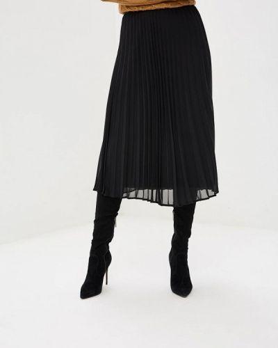 Плиссированная юбка черная Wallis