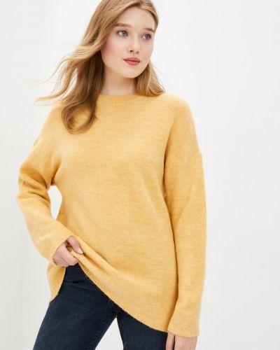 Акриловый желтый свитер Mavi