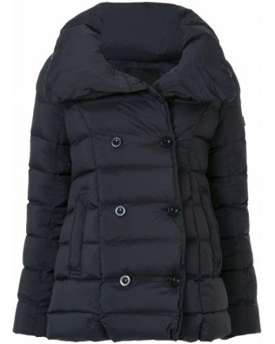 Классическая черная длинная куртка Tatras