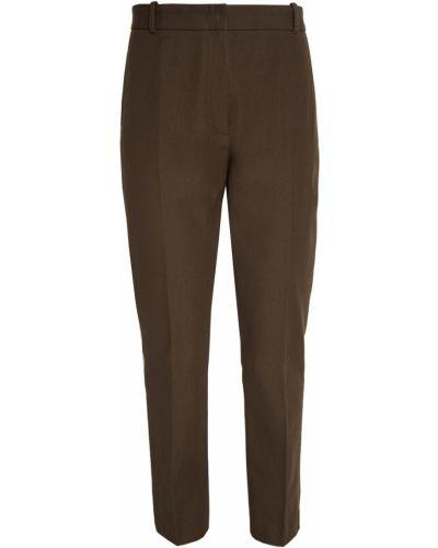 Классические брюки зеленый из вискозы Joseph
