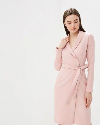 Платье розовое с запахом Vittoria Vicci