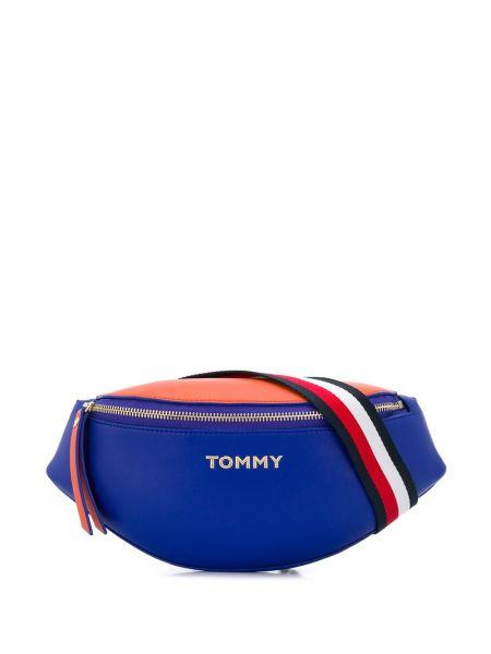 Поясная сумка на плечо синий Tommy Hilfiger
