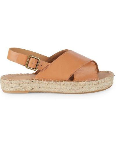 Sandały na platformie Soludos