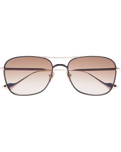 Прямые муслиновые черные солнцезащитные очки квадратные Sunday Somewhere