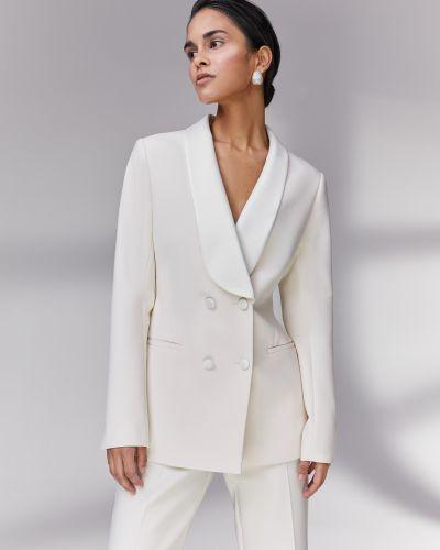 Приталенный пиджак на пуговицах с карманами 12storeez