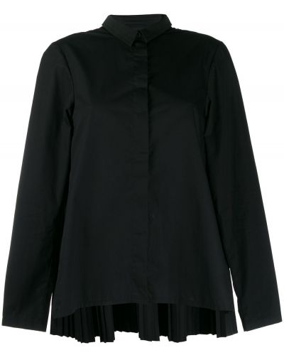 Черная рубашка с воротником Rundholz Black Label