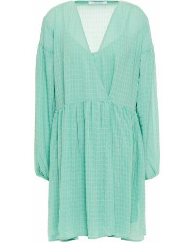 Платье мини мятное с карманами с манжетами SamsØe Φ SamsØe