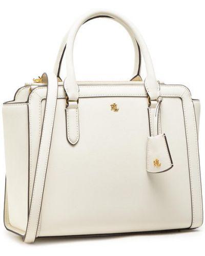 Biała torebka Lauren Ralph Lauren
