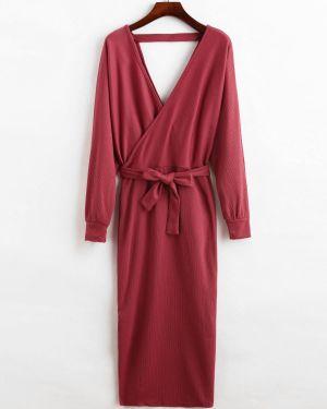 Платье с поясом Zaful