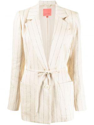 Коричневый пиджак с карманами Manning Cartell