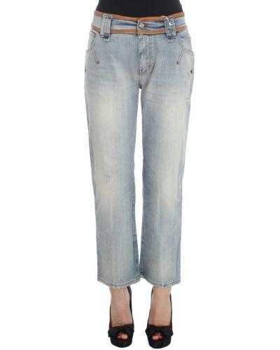 Jeansy bawełniane Galliano
