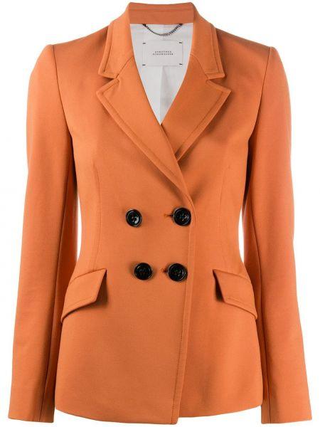 Пиджак с накладными карманами двубортный Dorothee Schumacher