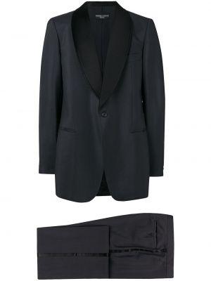 Серый костюмный костюм свободного кроя на пуговицах Pierre Cardin Pre-owned