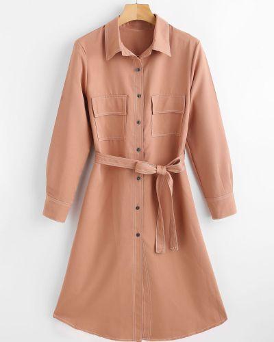Платье миди платье-майка платье-рубашка Zaful