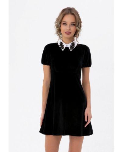 Прямое черное платье Anushka By Anna Pavlova