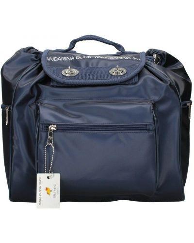 Niebieski plecak Mandarina Duck