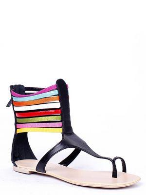 Кожаные сандалии - черные Vicini