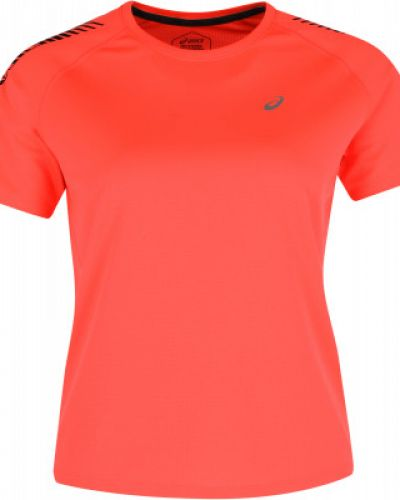Прямая оранжевая футболка Asics