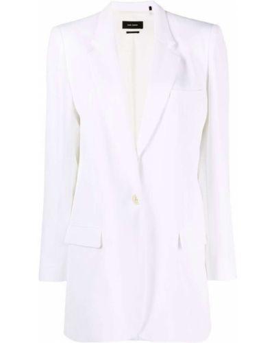 Белый пиджак на пуговицах Isabel Marant