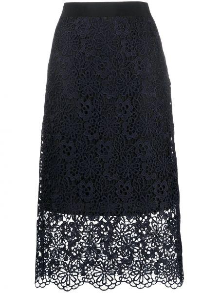Юбка с завышенной талией многоярусная Victoria, Victoria Beckham