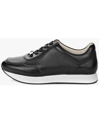 Кожаные кроссовки - черные Antonio Biaggi