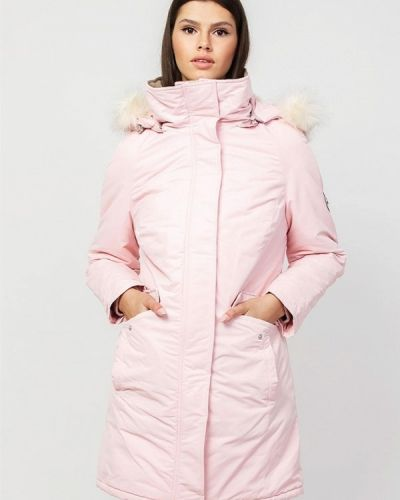 Утепленная розовая куртка Dasti