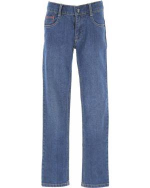 Niebieskie jeansy bawełniane Billybandit