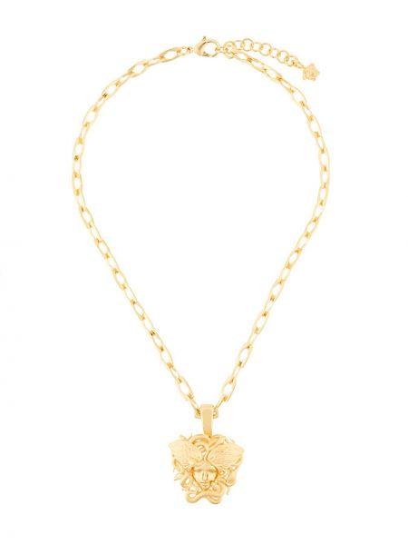 Naszyjnik żółty Versace