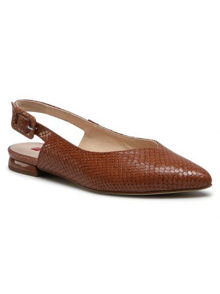 Brązowe sandały Högl