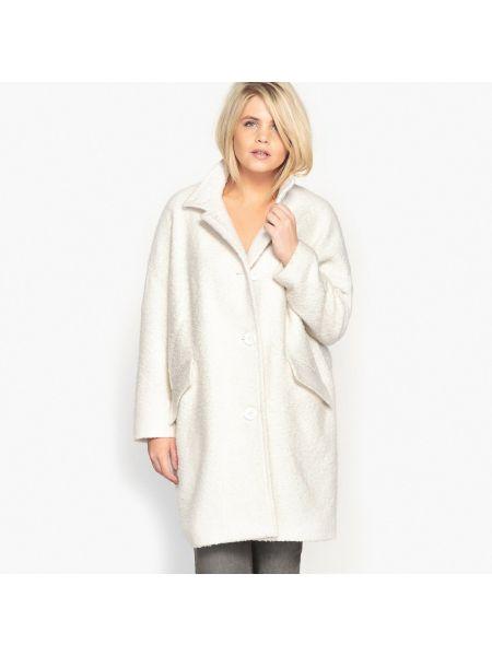Пальто с воротником шерстяное на пуговицах Castaluna