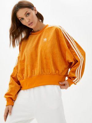 Свитшот - оранжевый Adidas Originals