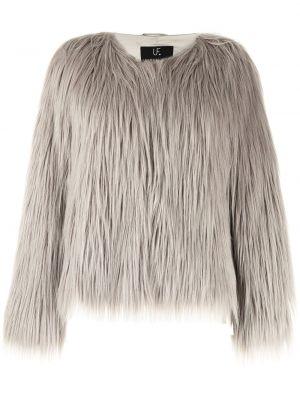 Długa kurtka z długimi rękawami Unreal Fur