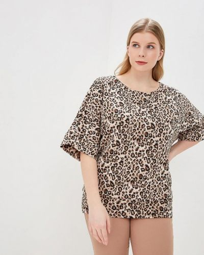 Блузка с коротким рукавом осенняя Darissa Fashion