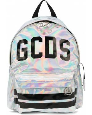 Серебряная сумка на плечо Gcds Kids