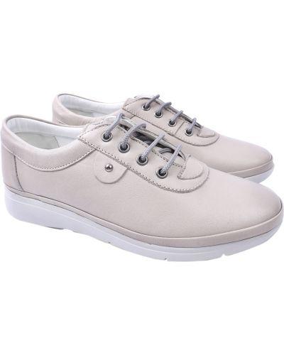 Кожаные туфли - серые Trio Trend
