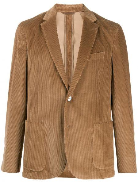 Пиджак двубортный вельветовый Boss