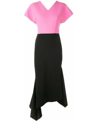 Платье мини короткое - черное Christian Siriano