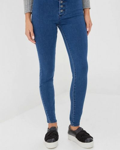 Синие джинсы-скинни Lost Ink.
