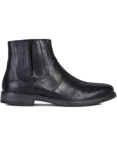 Кожаные ботинки повседневные высокие Geox