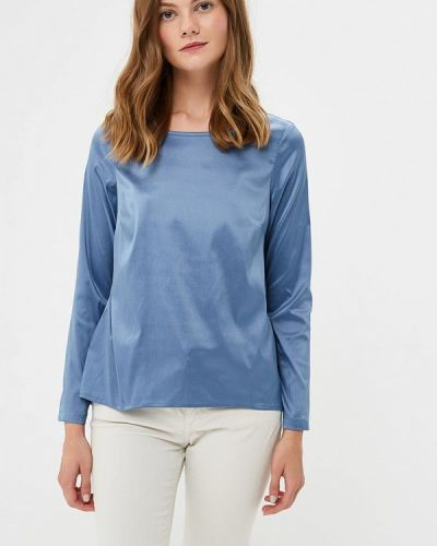 Блузка с длинным рукавом синяя Sahera Rahmani