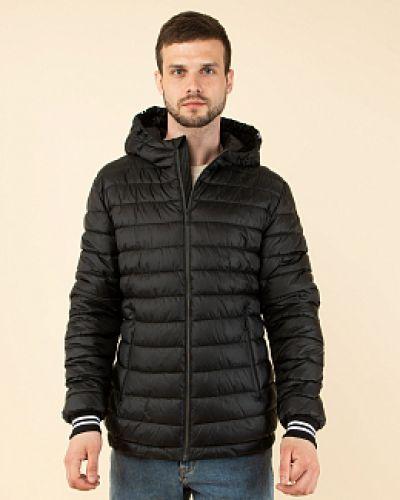 Куртка с капюшоном - черная каляев