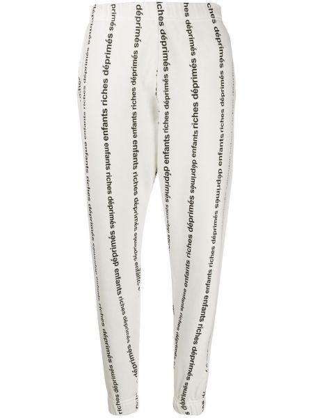 Спортивные брюки с манжетами Enfants Riches Déprimés