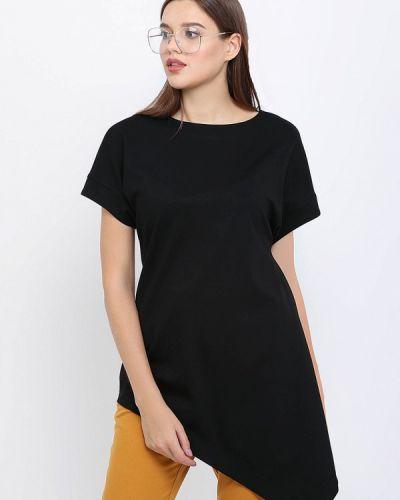 Блузка осенняя черная Lea Vinci