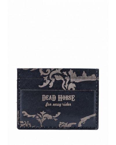 Черная визитница Deadhorse