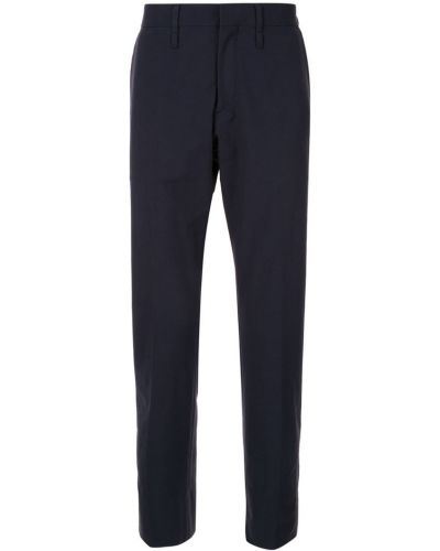 Прямые брюки синий с поясом Knott Men