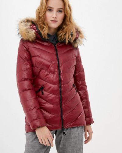 Теплая красная куртка Macleria