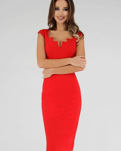 Вечернее платье - красное Anushka By Anna Pavlova